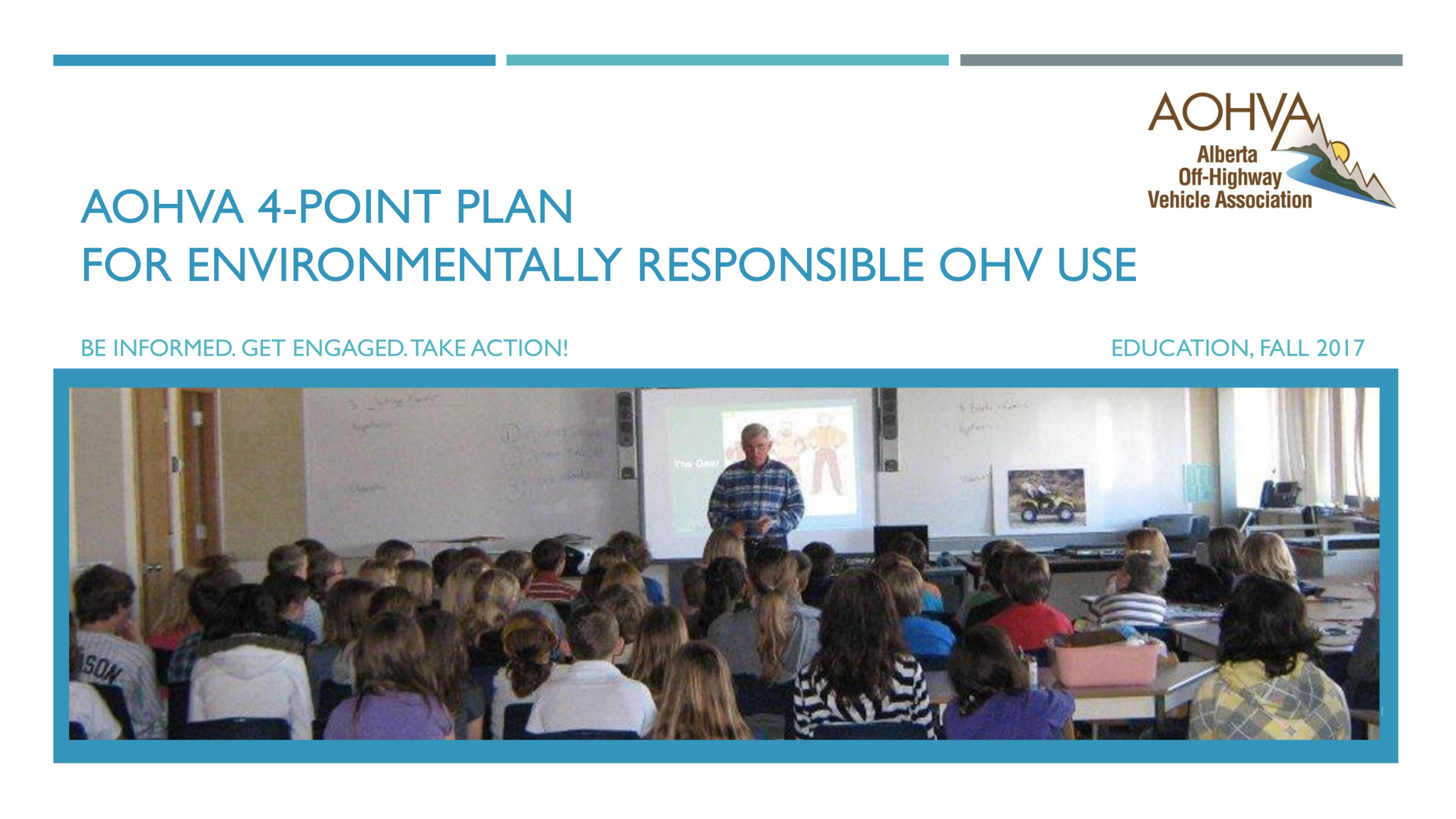 AOHVA 4-Point Plan_Education_Title Page